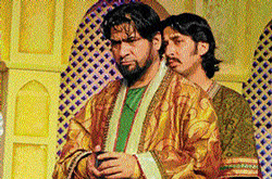 life size: Bollywood actor Yashpal Sharma will essay the role of Mohammad-bin Tughlaq.
