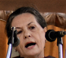 BJP-ruled states failed common man: Sonia