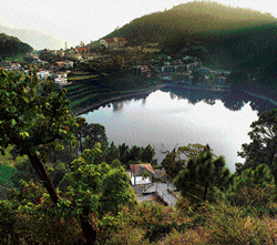 Picture perfect: Naini Lake in Nainital. photo by author