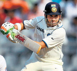India's hopes rest on Gautam Gambhir who was unbeaten on a battling half-century. PTI