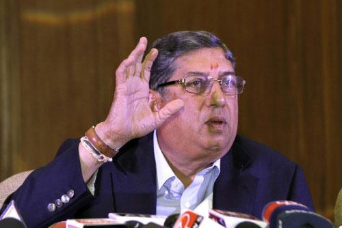 Srinivasan to put three demands before stepping down