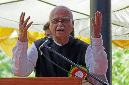 Shivraj Singh Chouhan 'humble' like Vajpayee, says Advani