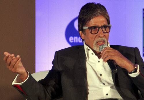 Never give up in life, says Big B
