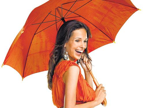 It's raining fashion!