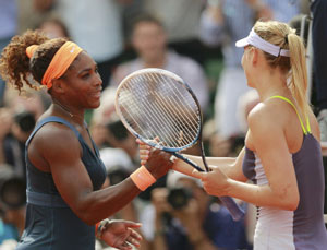 Sweet sixteen for brilliant Serena