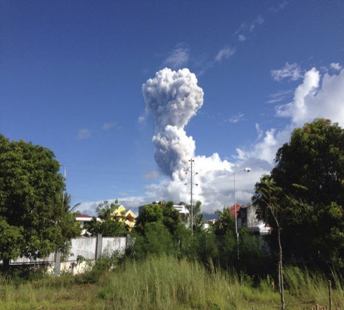 Humans reached Indian subcontinent after volcanic eruption