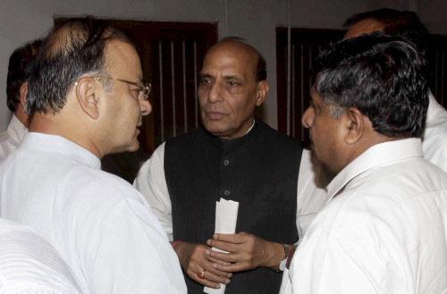 Advani will accept BJP decision: Rajnath