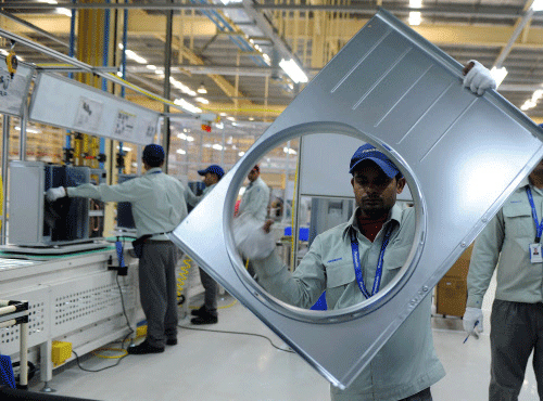 Industrial output clocks poor growth