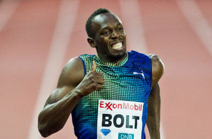 Bolt wins with world leading time in Oslo