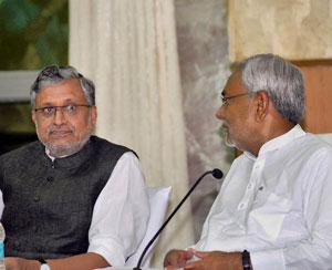 JD-U is trying to break us in Bihar: BJP