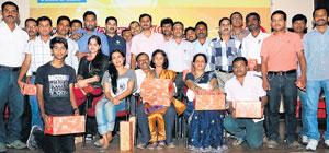DH-Prajavani contestants feted