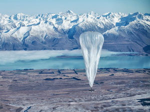 Google balloons to provide net access