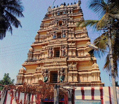 Temple treasures