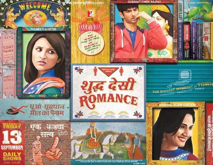 Sushant, Parineeti in 'Shuddh Desi Romance'