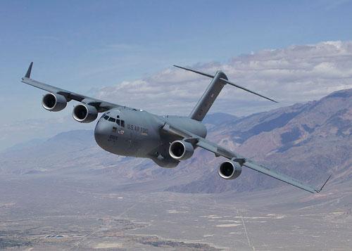 IAF gets C-17 Globemaster III aircraft