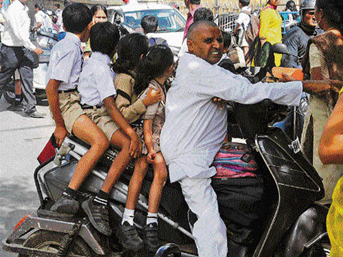 Striking school cab drivers firm on their demands