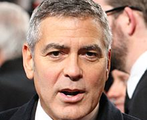 George Clooney never repeats socks!