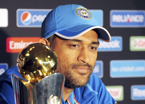 Dhoni eyes hat trick of victories