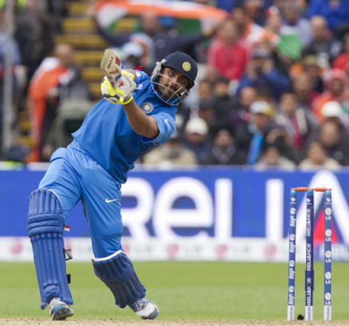 India restricted 129 for seven by England in CT final