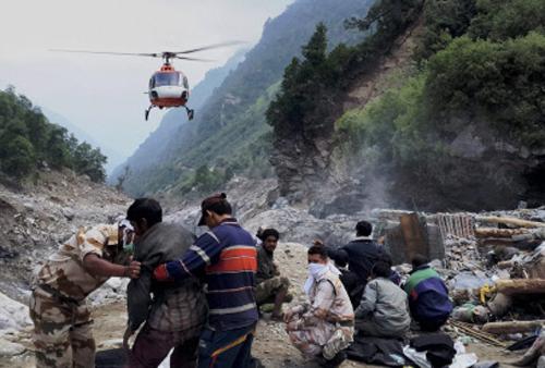 Over 4,500 rescued from Uttarakhand Sunday, says ITBP