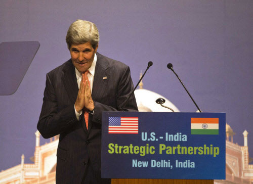 Kerry says US, India must resolve trade differences