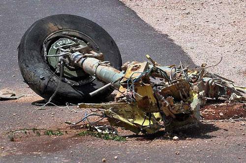 MiG-29 fighter aircraft crashes; pilot safe
