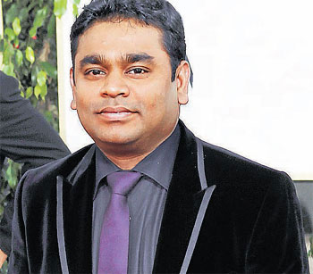 A.R. Rahman's golden moments on coffee table book