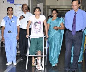 Girl injured in blast seeks financial help from govt