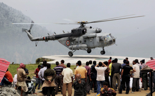 20 die as IAF mercy chopper crashes in Uttarakhand
