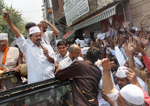 Kejri says he will never join BJP, vows to defeat Modi in Varanasi