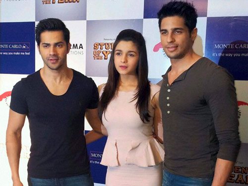 Not in competition with Alia, Sidharth: Varun Dhawan