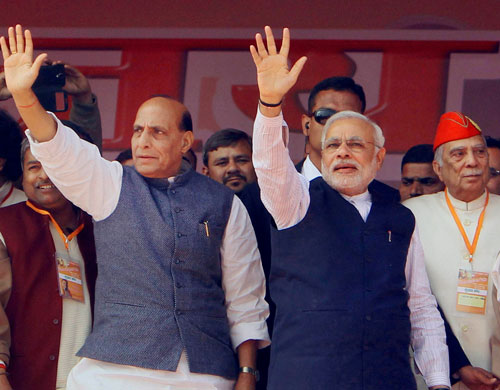 Only Modi to be PM of NDA govt: Rajnath