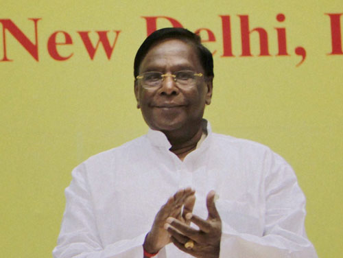 V Narayanasamy, Senior Congress leader