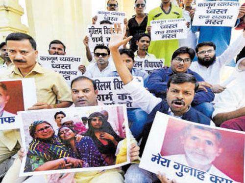 Lynching, scribe burning, controversial remarks keep Uttar Pradesh in news