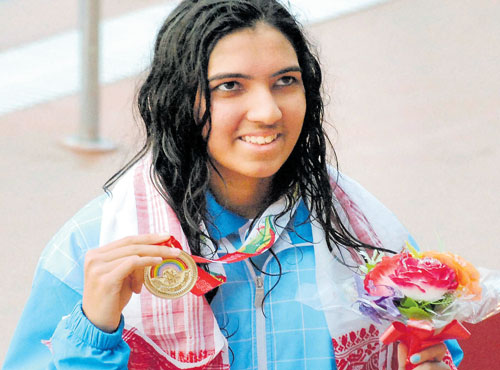 Proud moment for Malavika, Madhu in South Asian pool