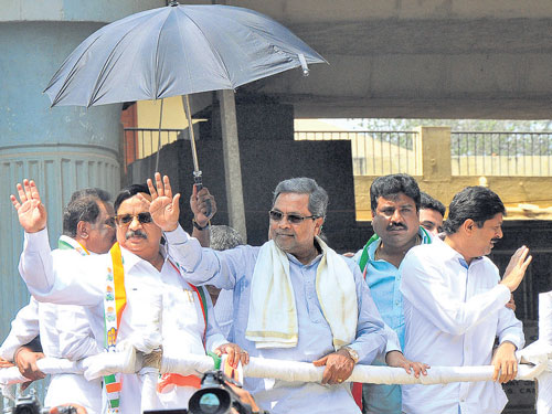 High-voltage campaigning for Hebbal ends