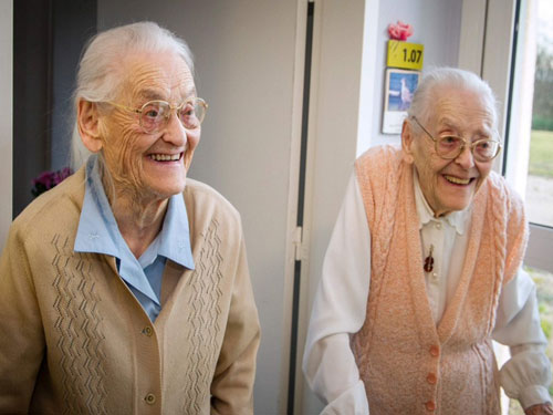 France's 104-year-old twins say closeness is the secret
