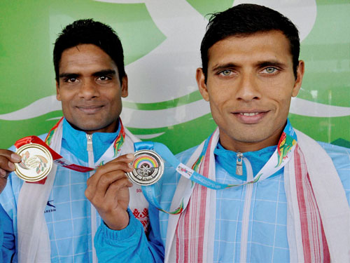 Indians win two gold, two silver in triathlon