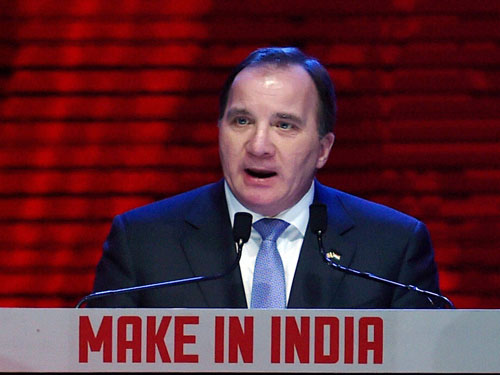 World focus has shifted to India from China: Swedish PM