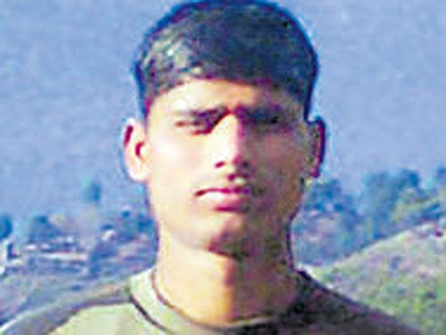 Vijayapura soldier killed in Kupwara encounter
