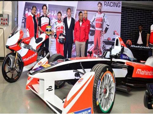 'Electric car Formula E race to help Mahindra'