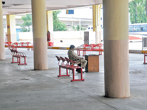 Poor planning turns Peenya bus stand into a white elephant