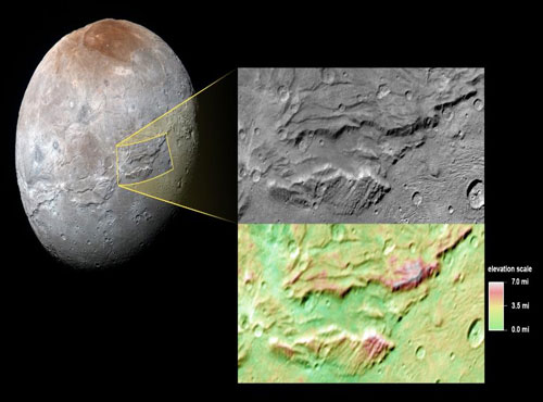 Frozen ocean caused Pluto's moon to stretch like 'Hulk': NASA