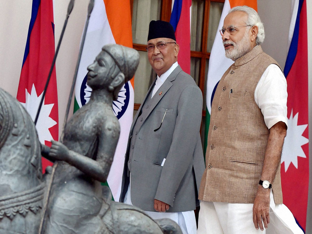 India, Nepal seek to mend ties, sign 8 pacts