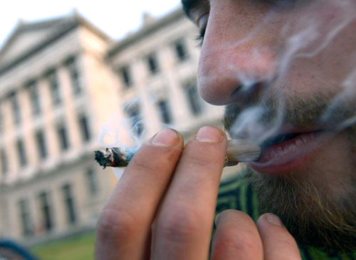 Marijuana users five times more likely to become alcoholic