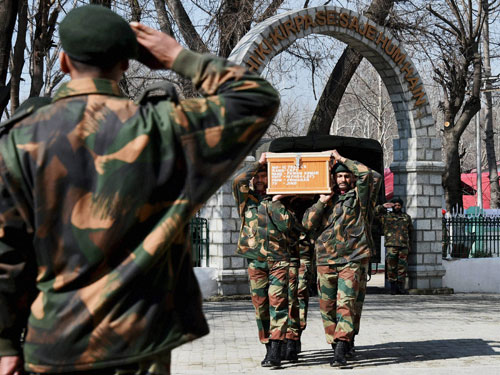 Two Captains killed as J&K encounter continues