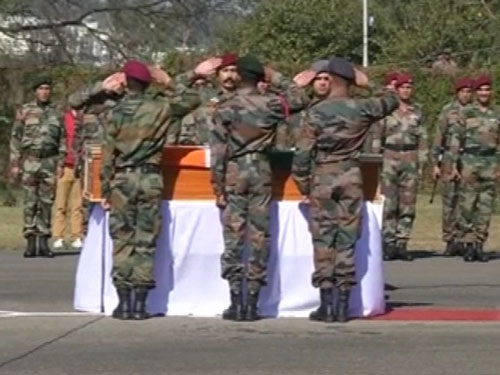 Army bids adieu to Captain Tushar Mahajan
