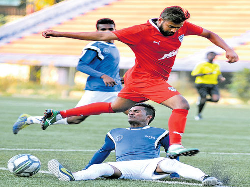 Bengaluru FC, DYES share spoils