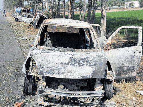 Haryana suspects conspiracy behind violent riots
