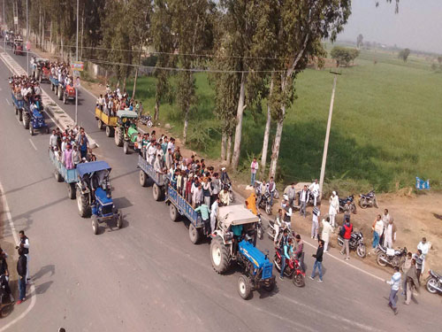 Sidelining of Jats led to unrest